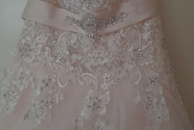Cizzy – Size 16 Strapless dress | Second hand wedding dresses Muswellbrook - 5