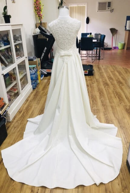 Bespoke / Other – Size 8 A-Line dress | Second hand wedding dresses Noble Park - 2