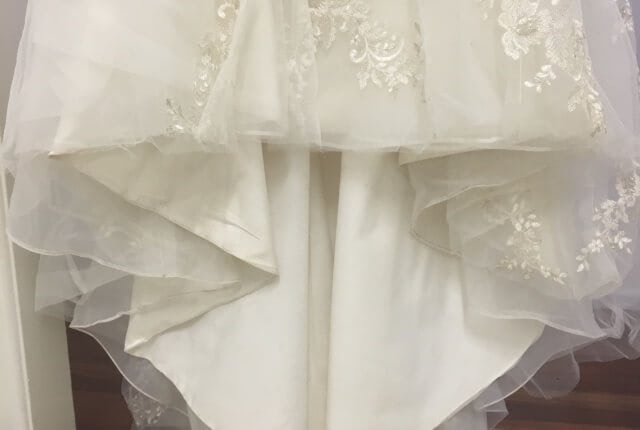 Luv Bridal – Size 10 Fit and Flare dress | Second hand wedding dresses Murarrie - 9