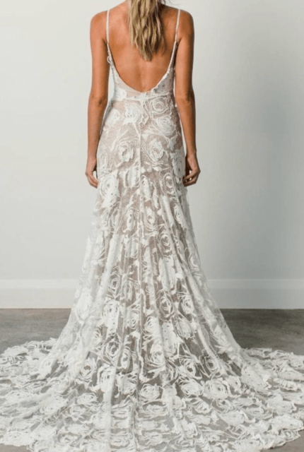 Grace Loves Lace – Size 10 Fit and Flare dress | Second hand wedding dresses Bangalow - 3