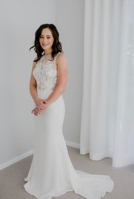 Caleche Bridal House – Size 10 Fit and Flare dress | Second hand wedding dresses Hobart - 7