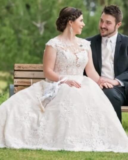 San Patrick – Size 16 Ball Gown dress | Second hand wedding dresses Happy Valley - 9