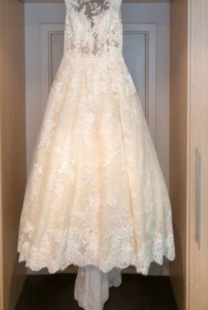 San Patrick – Size 16 Ball Gown dress | Second hand wedding dresses Happy Valley - 5