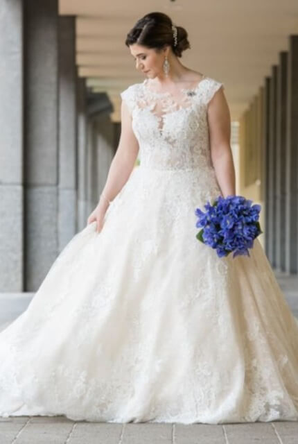 San Patrick – Size 16 Ball Gown dress | Second hand wedding dresses Happy Valley - 6