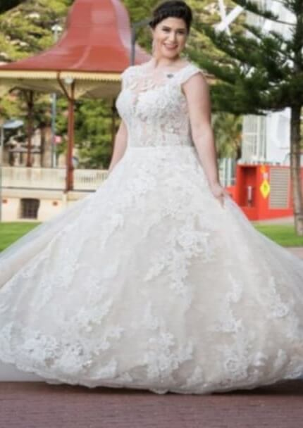 San Patrick – Size 16 Ball Gown dress | Second hand wedding dresses Happy Valley - 8