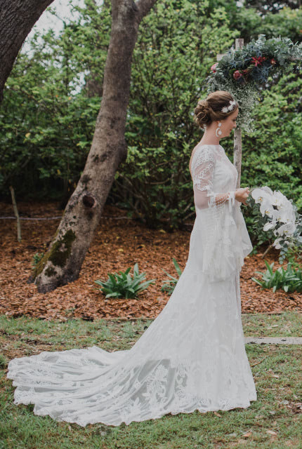 Rue De Seine – Size 12 Fit and Flare dress | Second hand wedding dresses Redfern - 5