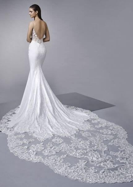 Enzoani – Size 14 Trumpet dress | Second hand wedding dresses Thornbury - 3