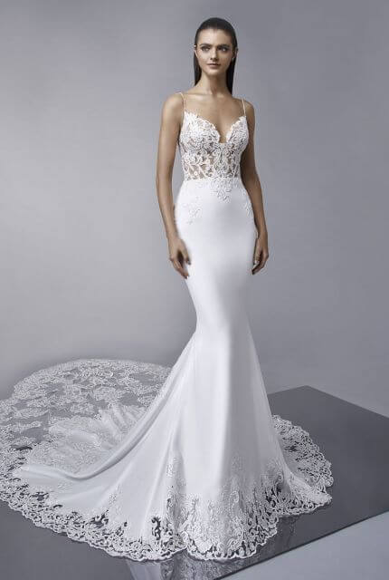 Enzoani – Size 14 Trumpet dress | Second hand wedding dresses Thornbury - 2