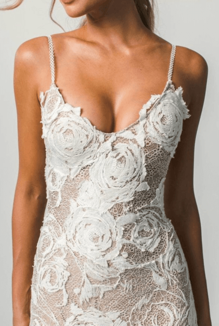 Grace Loves Lace – Size 10 Fit and Flare dress | Second hand wedding dresses Bangalow - 2