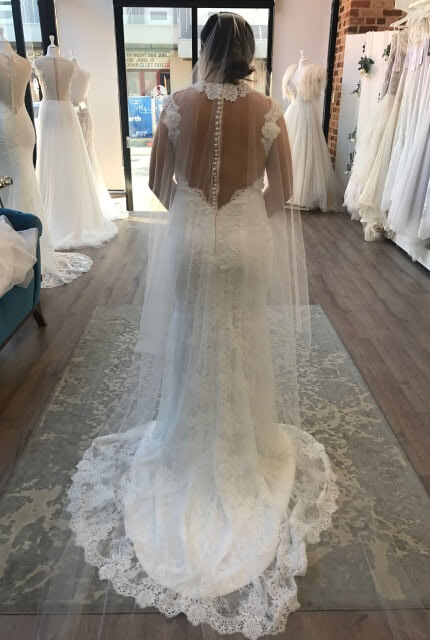 Zavana Bridal – Size 10 Fit and Flare dress | Second hand wedding dresses Leongatha - Size 10