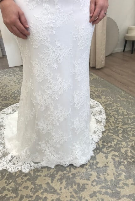 Zavana Bridal – Size 10 Fit and Flare dress | Second hand wedding dresses Leongatha - 3