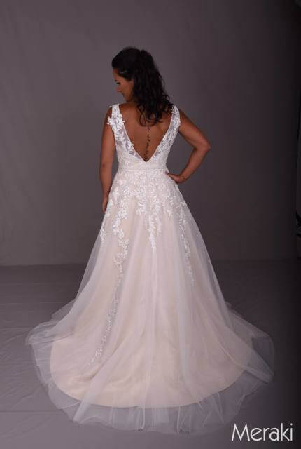 Bespoke / Other – Size 16 A-Line dress | Second hand wedding dresses Glengowrie - 8