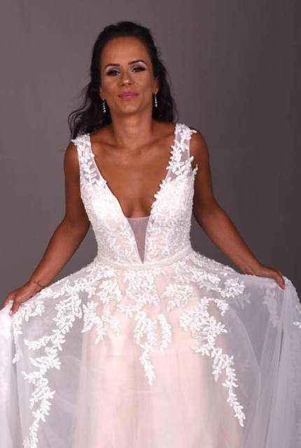 Bespoke / Other – Size 16 A-Line dress | Second hand wedding dresses Glengowrie - 9