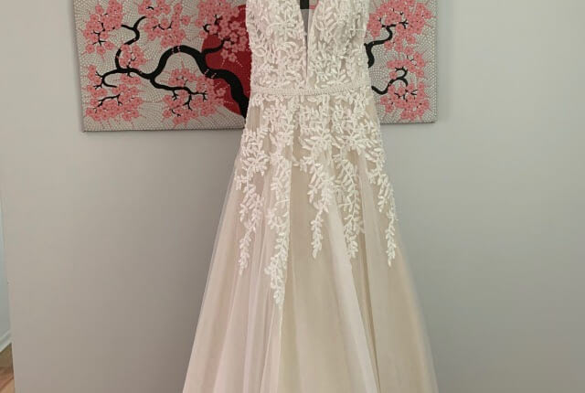 Bespoke / Other – Size 16 A-Line dress | Second hand wedding dresses Glengowrie - 6