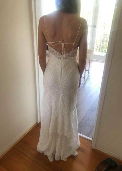 Bespoke / Other – Size 6 Fit and Flare dress | Second hand wedding dresses hampton park - 2