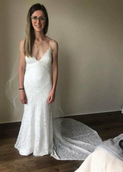 Bespoke / Other – Size 6 Fit and Flare dress | Second hand wedding dresses hampton park - Size 6