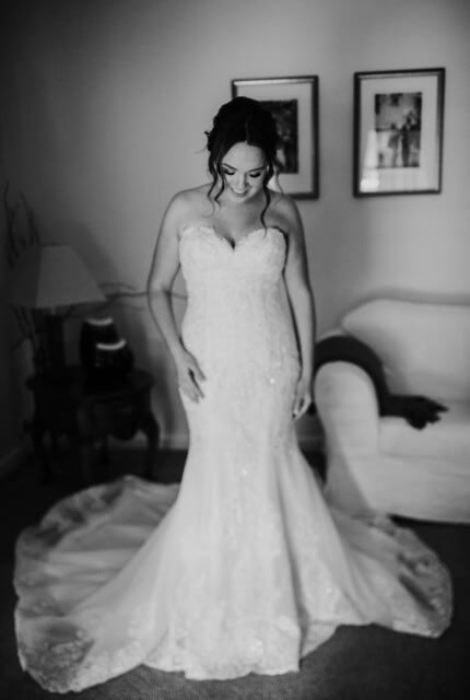 Brides of Armadale – Size 10 Fit and Flare dress | Second hand wedding dresses Mooroolbark - Size 10