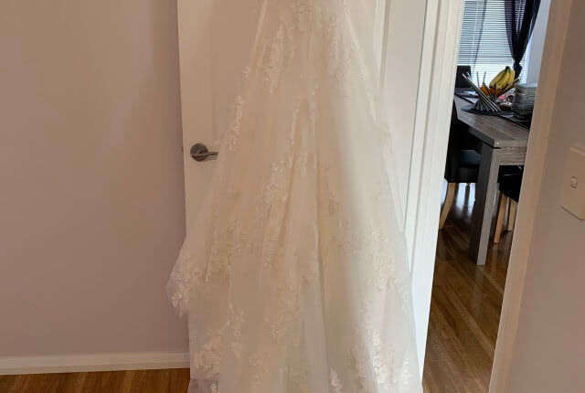 Stella York – Size 10 A-Line dress | Second hand wedding dresses Redcliffe - 8