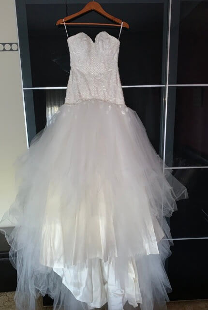 Peter De Petra – Size 8 Fit and Flare dress | Second hand wedding dresses Oakleigh - 4