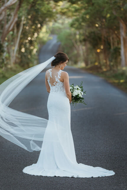 Pronovias – Size 12 Fit and Flare dress | Second hand wedding dresses Annerley - Size 12
