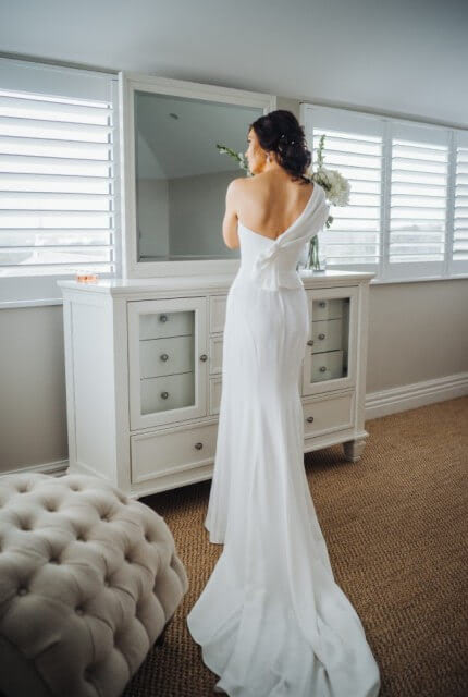 Georgia Young Couture – Size 6 Fit and Flare dress | Second hand wedding dresses St Kilda - 3