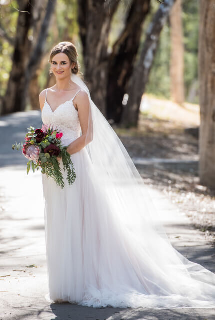 Stella York – Size 8 A-Line dress | Second hand wedding dresses Bendigo - 2