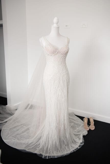 Annette of Melbourne – Size 10 Fit and Flare dress | Second hand wedding dresses FOOTSCRAY - 6