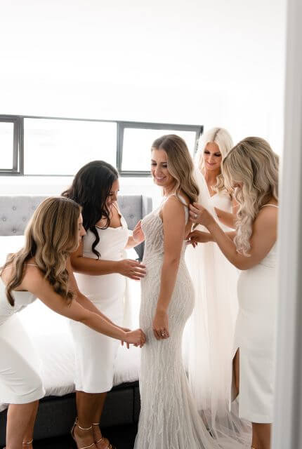 Annette of Melbourne – Size 10 Fit and Flare dress | Second hand wedding dresses FOOTSCRAY - Size 10