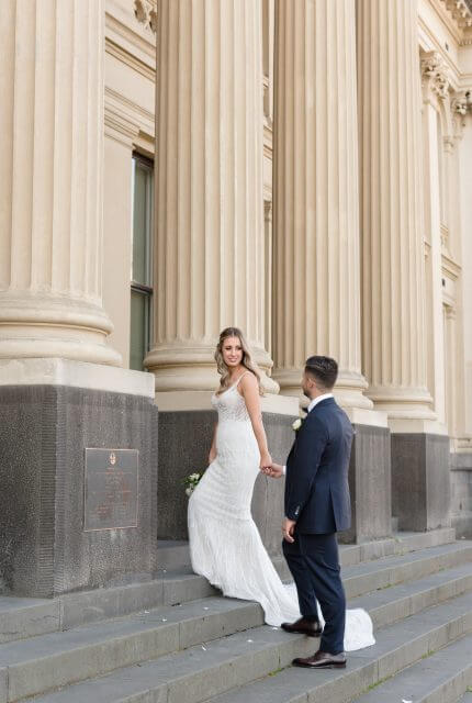 Annette of Melbourne – Size 10 Fit and Flare dress | Second hand wedding dresses FOOTSCRAY - 3