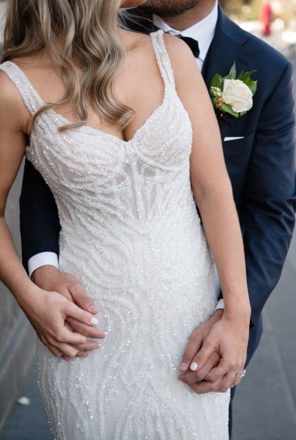 Annette of Melbourne – Size 10 Fit and Flare dress | Second hand wedding dresses FOOTSCRAY - 2