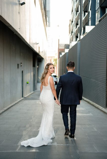 Annette of Melbourne – Size 10 Fit and Flare dress | Second hand wedding dresses FOOTSCRAY - 4