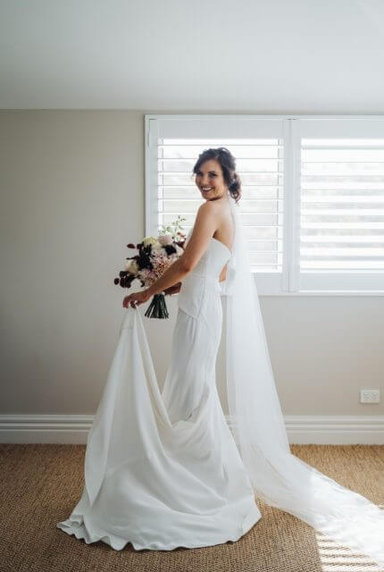Georgia Young Couture – Size 6 Fit and Flare dress | Second hand wedding dresses St Kilda - 4