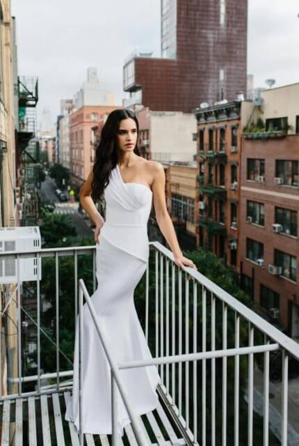 Georgia Young Couture – Size 6 Fit and Flare dress | Second hand wedding dresses St Kilda - 2