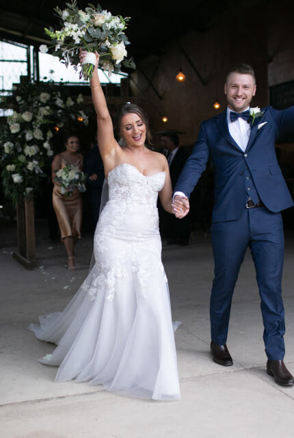 Sarah Joseph Couture – Size 10 Fit and Flare dress | Second hand wedding dresses Narre Warren - 7