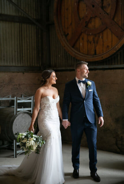 Sarah Joseph Couture – Size 10 Fit and Flare dress | Second hand wedding dresses Narre Warren - 6