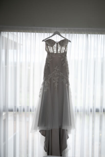 Sarah Joseph Couture – Size 10 Fit and Flare dress | Second hand wedding dresses Narre Warren - 2