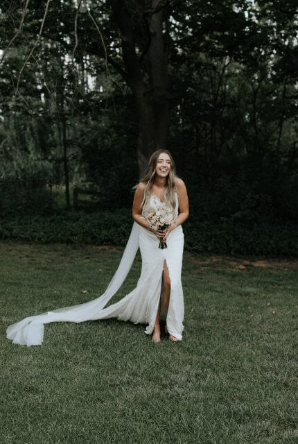 Bespoke / Other – Size 12 Strapless dress | Second hand wedding dresses Sale - 4