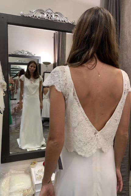 Lambert Creations – Size 8 Fit and Flare dress | Second hand wedding dresses Sydney - Size 8
