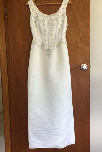 Sincerity Bridal – Size 10 Sheath dress | Second hand wedding dresses Lennox Head - 2