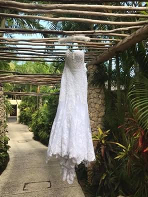 Martina Liana – Size 10 Fit and Flare dress | Second hand wedding dresses Cairns - 4