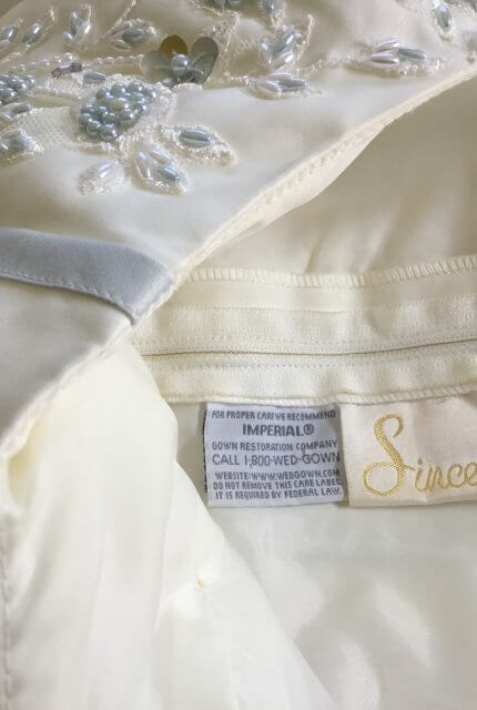 Sincerity Bridal – Size 10 Sheath dress | Second hand wedding dresses Lennox Head - 15