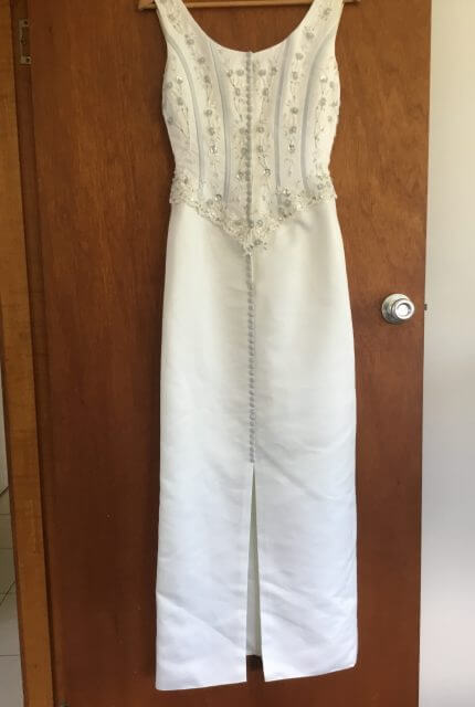 Sincerity Bridal – Size 10 Sheath dress | Second hand wedding dresses Lennox Head - 3