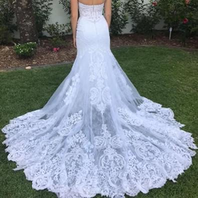 Martina Liana – Size 10 Fit and Flare dress | Second hand wedding dresses Cairns - Size 10