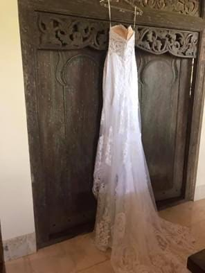 Martina Liana – Size 10 Fit and Flare dress | Second hand wedding dresses Cairns - 5