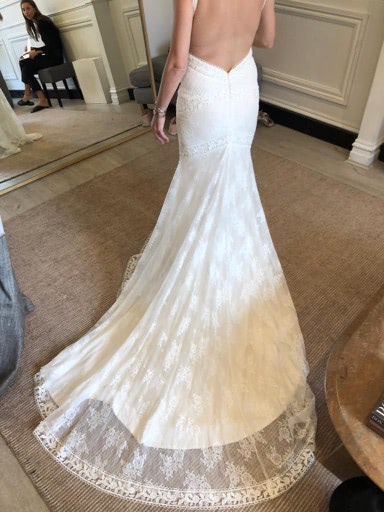 One Day Bridal – Size 10 Fit and Flare dress | Second hand wedding dresses Woollahra - 3
