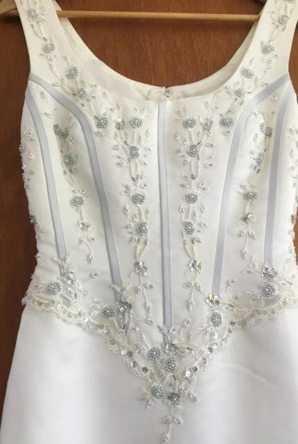 Sincerity Bridal – Size 10 Sheath dress | Second hand wedding dresses Lennox Head - Size 10