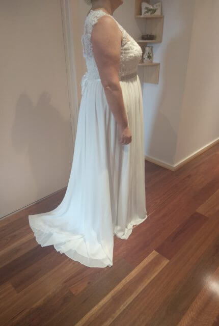 Bespoke / Other – Size 22 A-Line dress | Second hand wedding dresses South Morang - 3