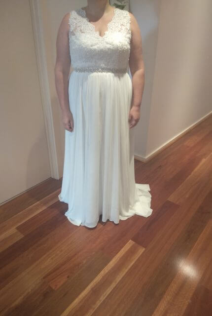 Bespoke / Other – Size 22 A-Line dress | Second hand wedding dresses South Morang - 2