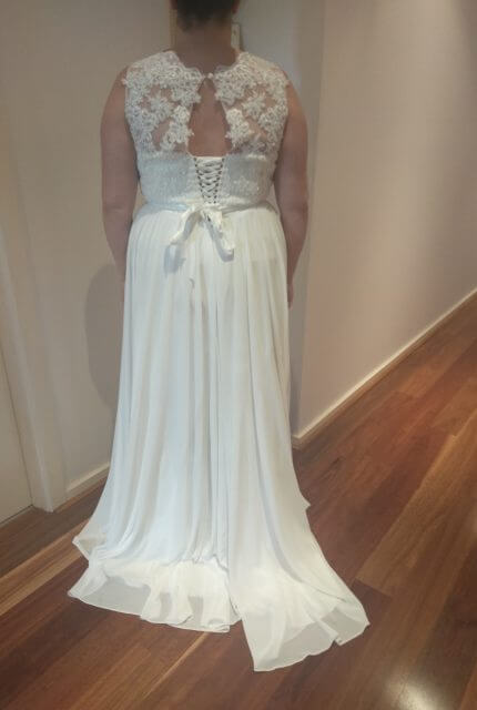 Bespoke / Other – Size 22 A-Line dress | Second hand wedding dresses South Morang - Size 22