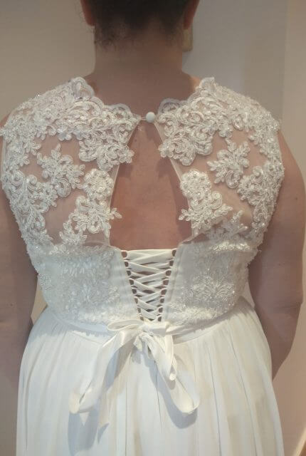 Bespoke / Other – Size 22 A-Line dress | Second hand wedding dresses South Morang - 5